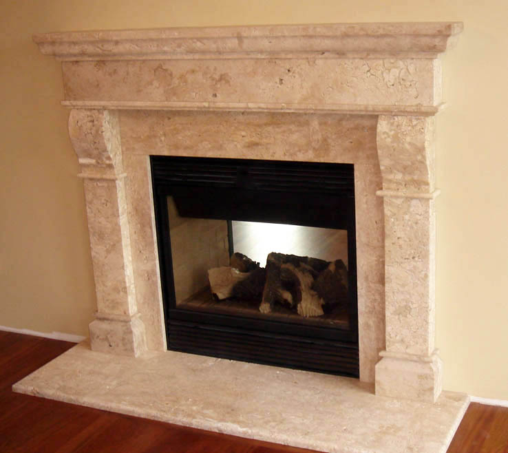Mantel surrounds cast stone marble fireplace for Marble for fireplace surround