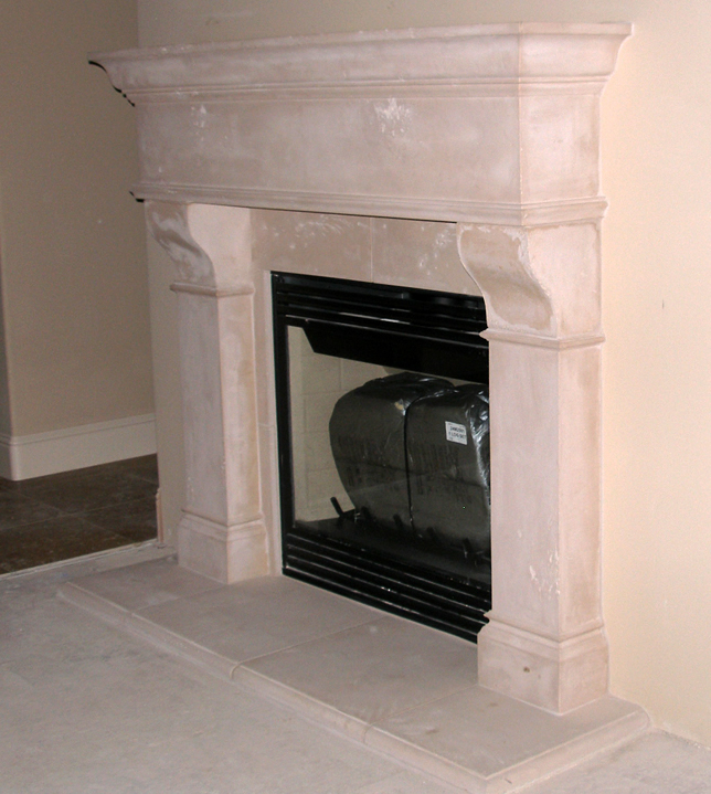 Mantel Surrounds Cast Stone Marble Fireplace