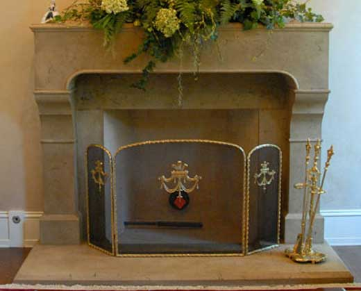 cast stone fireplace mantels pre cast surrounds