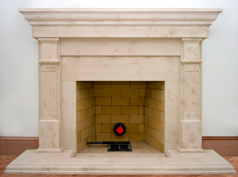 Pasadena Marble Fireplaces Sale Precast Surround Custom Design