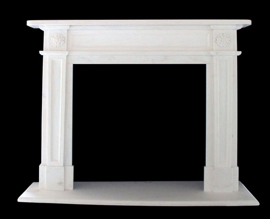 Large selection of stock fireplace mantels on sale. Choose from marble,  limestone, sandstone, travertine and cast stone. Cast stone mantels are  made to ... - Sale Marble Fireplace Mantels Limestone Surrounds