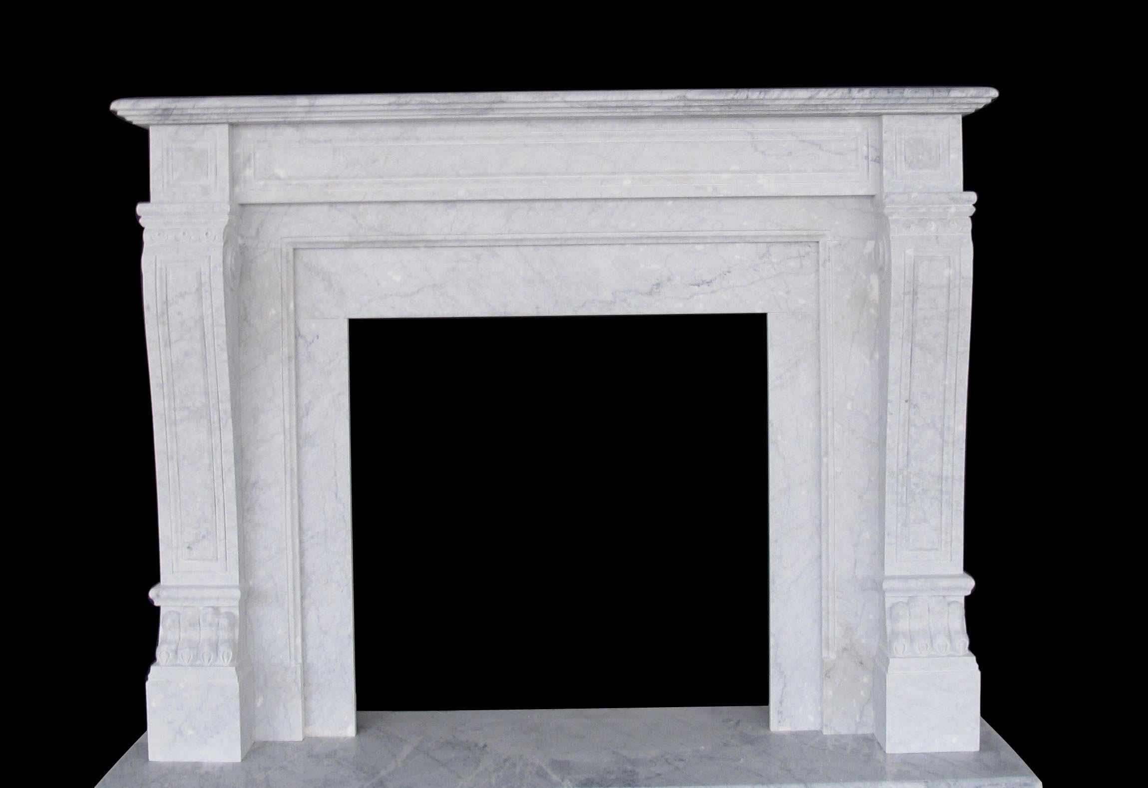 italian regal marble fireplaces sale carrera white mantels