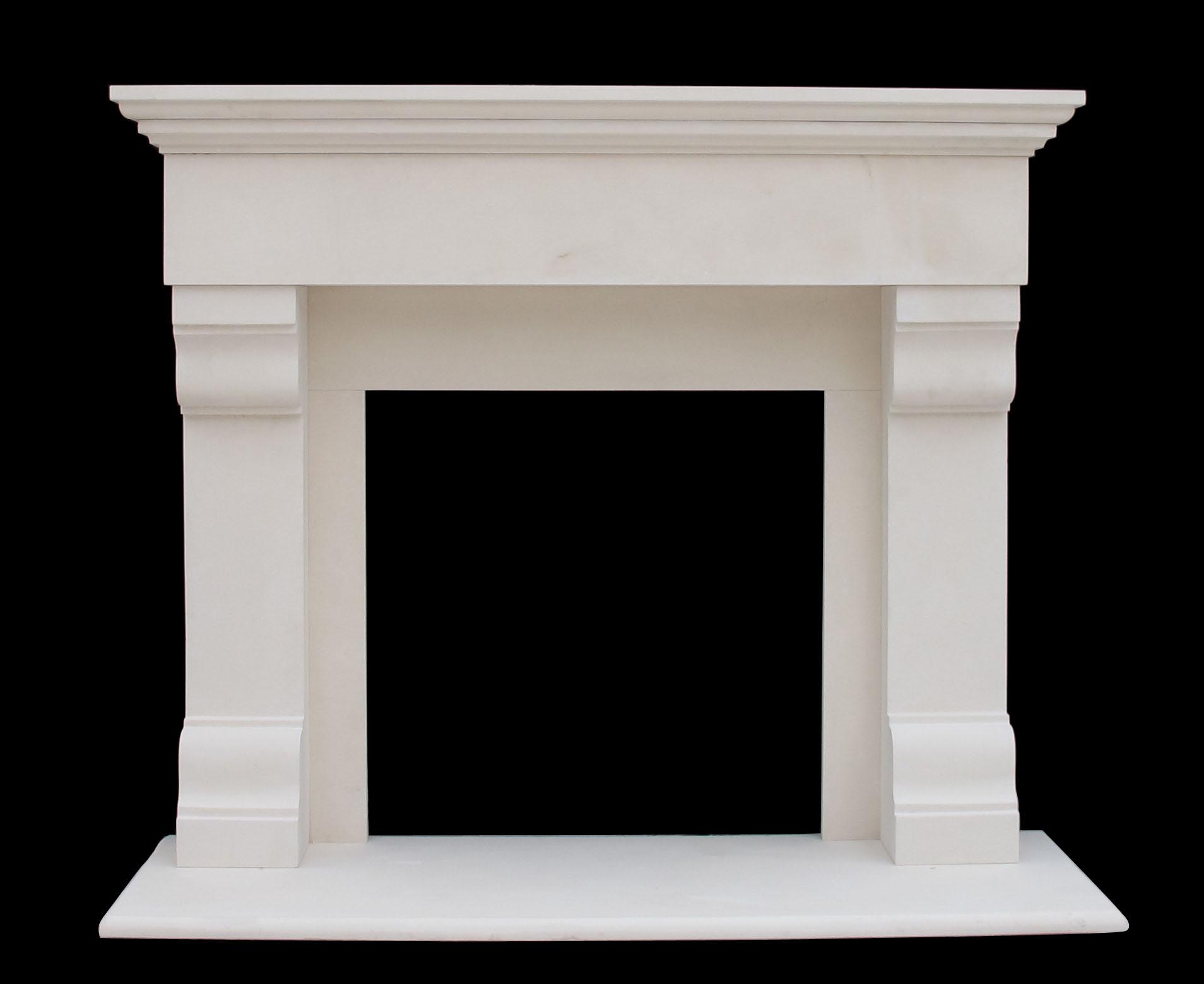 winnetka limestone mantel sale mantel traditional