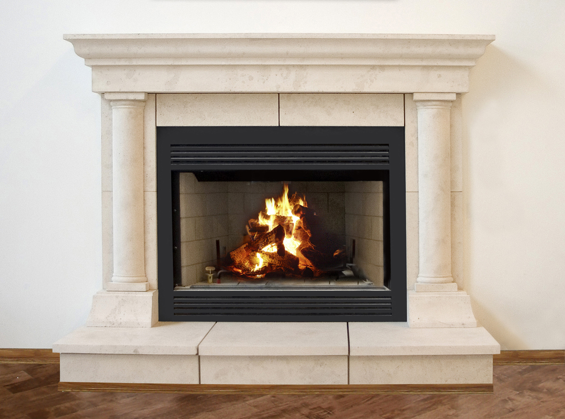 Tuscan Cast Stone Fireplace Mantels New York Cast Stone