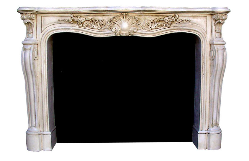 French Fireplace Marble Mantels Cast Stone