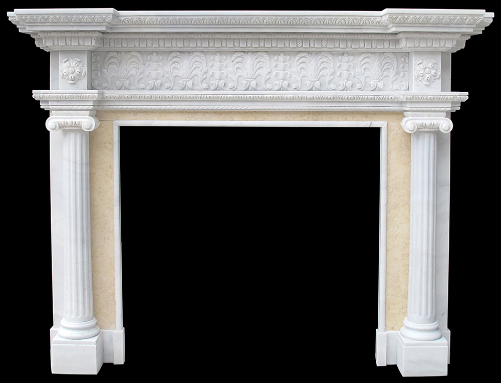 Marble Fireplace Cast Stone Mantels Limestone Surrounds Custom Hearth